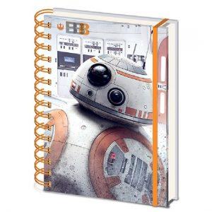 Libreta Anillada The Last Jedi (BB-8) - Star Wars