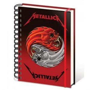Libreta Anillada Metallica - SM