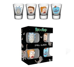 SET VASOS CHUPITO RICK AND MORTY - SM