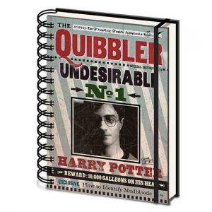 LIBRETA Harry Potter (Quibbler)