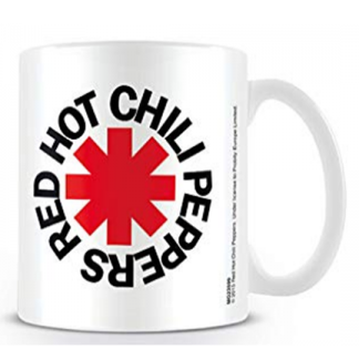 TAZON RED HOT CHILI PEPPERS LOGO WHITE