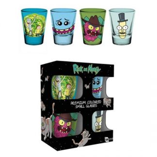 SET VASOS CHUPITO RICK AND MORTY MIX