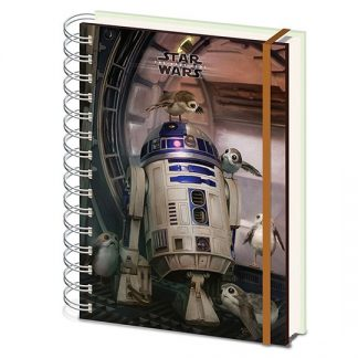 LIBRETA A5 STAR WARS THE LAST JEDI R2D2