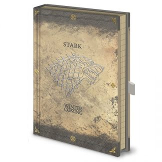 LIBRETA PREMIUM A5 GAME OF THRONES STARK WORN