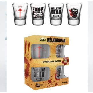 SET VASOS CHUPITO The Walking Dead