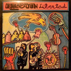 QUILAPAYUN, LIBERTAD, ESPAÑA LP EX