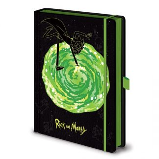LIBRETA PREMIUM RICK AND MORTY